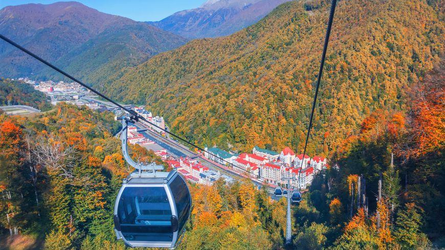 Из Сочи в Красную Поляну — мир величественных гор!