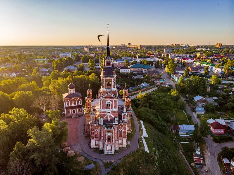Экскурсия Можайск: святыни, символы исекреты