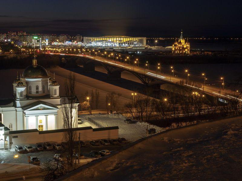 Экскурсия Групповая экскурсия поНижнему Новгороду вчас вечерний!