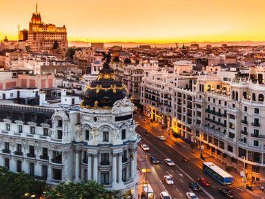 Ежедневная прогулка по Мадриду