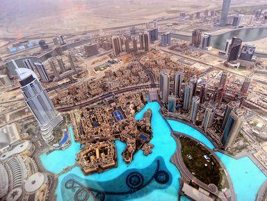 Групповая экскурсия «Современный Дубай» иподъем набашню Бурдж Халифа