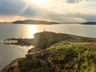 Остров Русский: красота и мощь