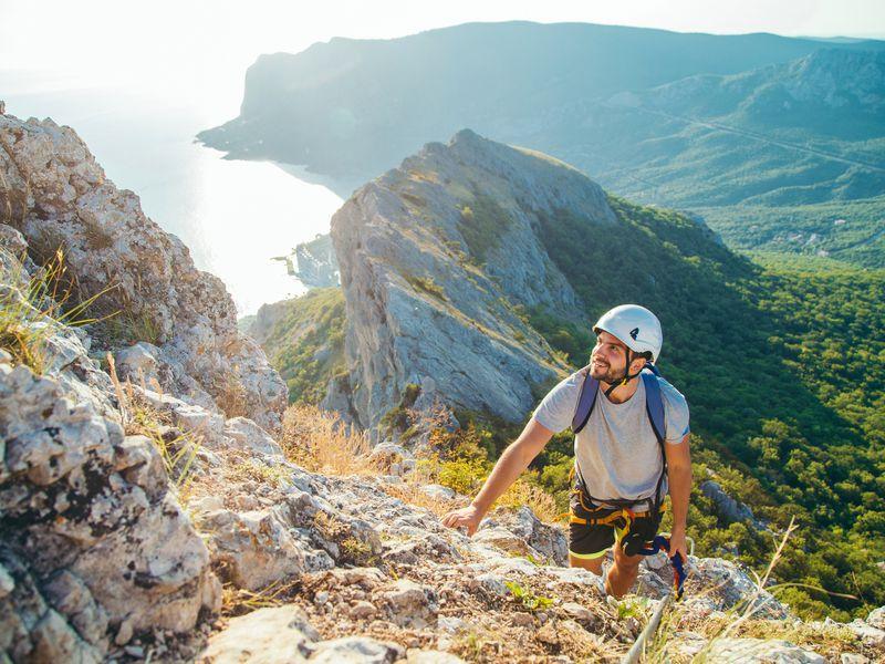 Экскурсия На гребне горы: восхождение по Виа-Феррата в мини-группе