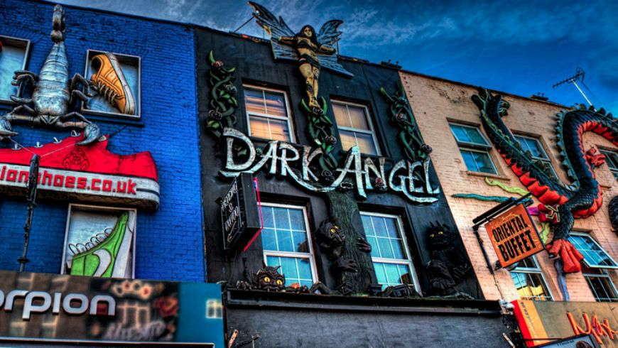 Camden Town: рок-н-ролл и пабы