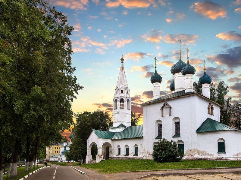 Экскурсия Ярославль для новичков
