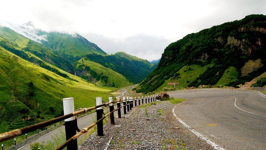 Военно-Грузинская дорога. От Мцхеты до Дарьяльского ущелья