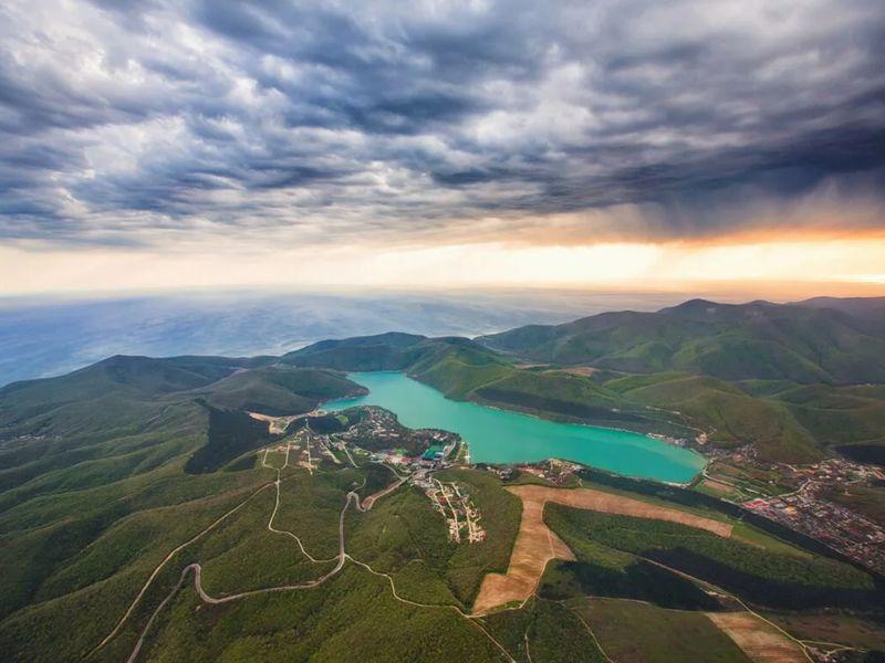 Экскурсия Красоты озера Абрау — путешествие из Анапы