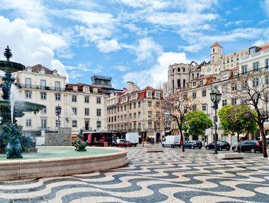Весь Лиссабон: пешком, на трамвае, фуникулёре и лифте