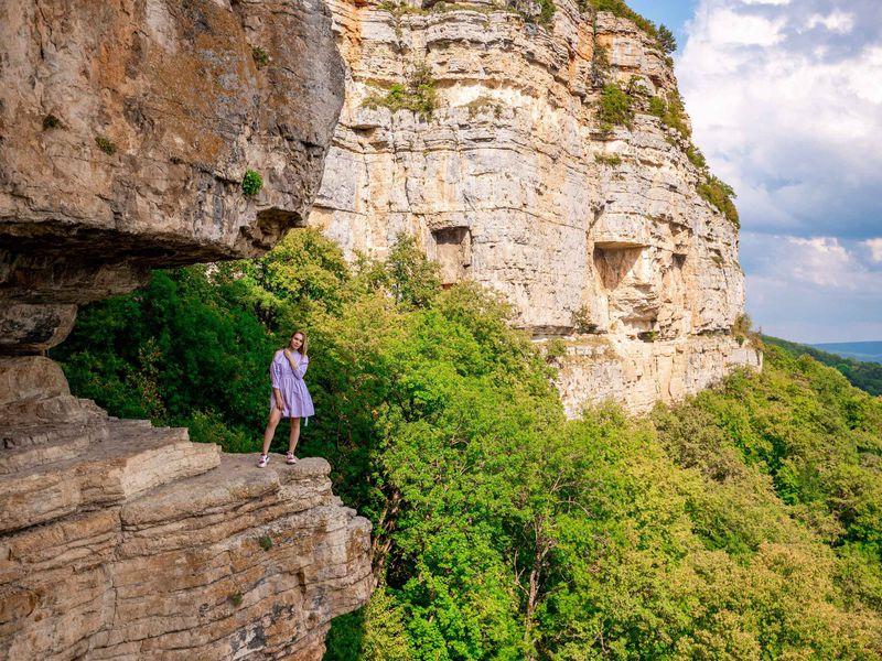 Экскурсия Орлиная полочка ипоезд вущелье: Мезмай иГуамка