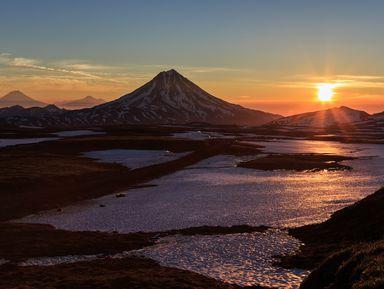 К Вилючинскому вулкану и замерзшему водопаду