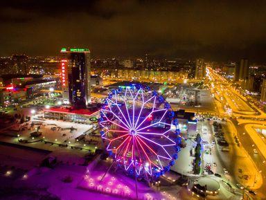 Ночная Казань с разных ракурсов