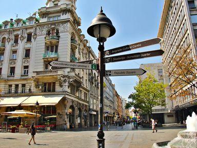 Проездом в Белграде