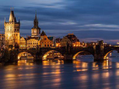 Магия вечерней Праги