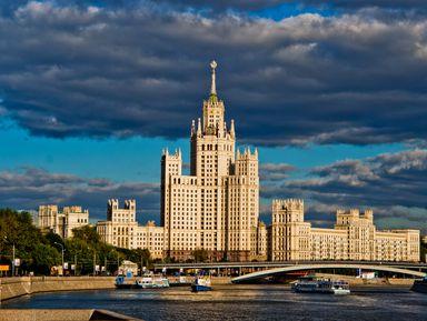 Секреты сталинских высоток: автобусная экскурсия