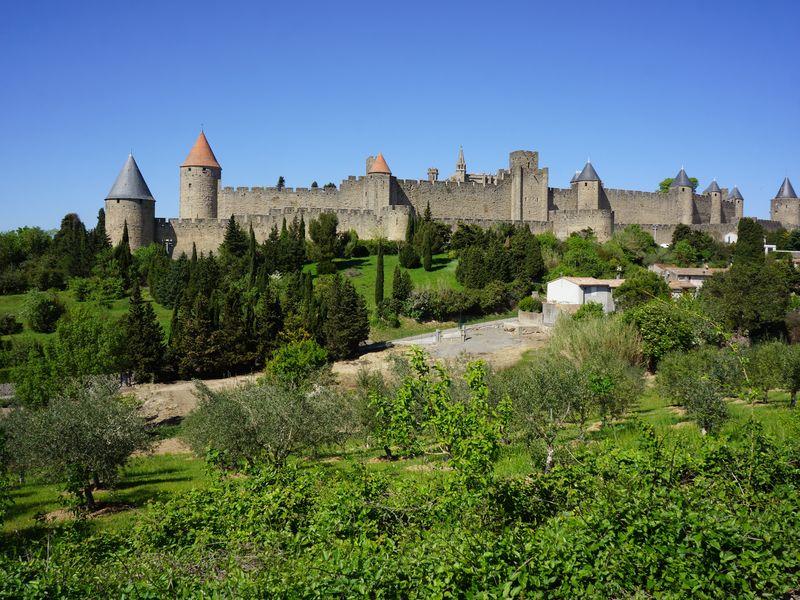 Экскурсия Виноградники Пьера Ришара и грандиозная крепость Каркасон