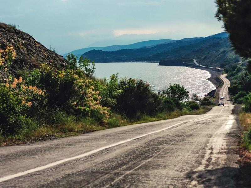 ИзАлушты— вАфинеон по самой красивой дороге Крыма width=