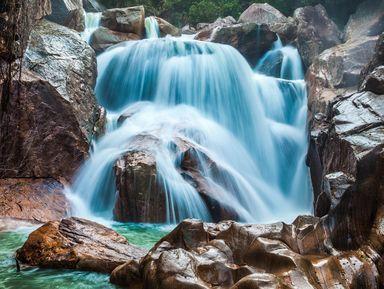 Край диких водопадов Бахо