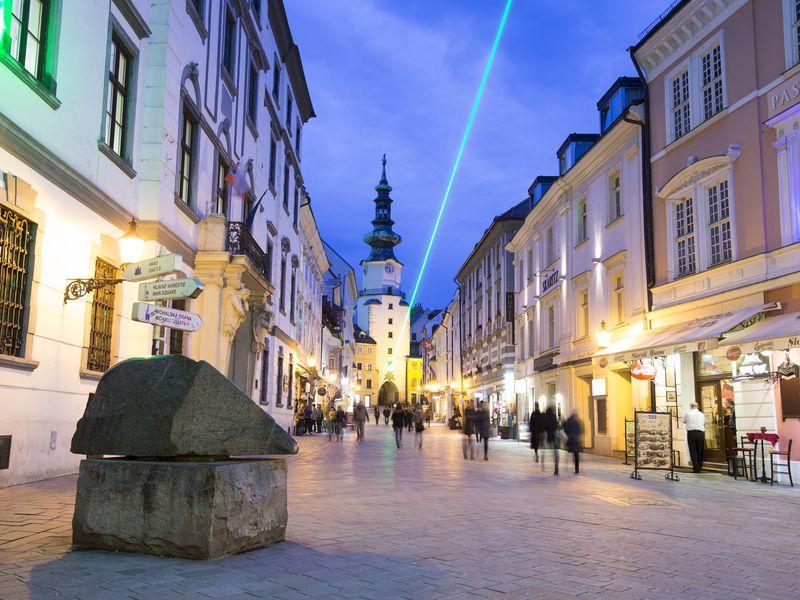 Братислава: город коронации венгерских монархов