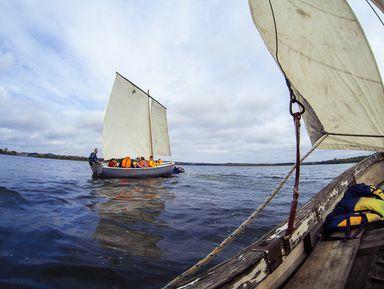 Под парусами по озеру Себеж