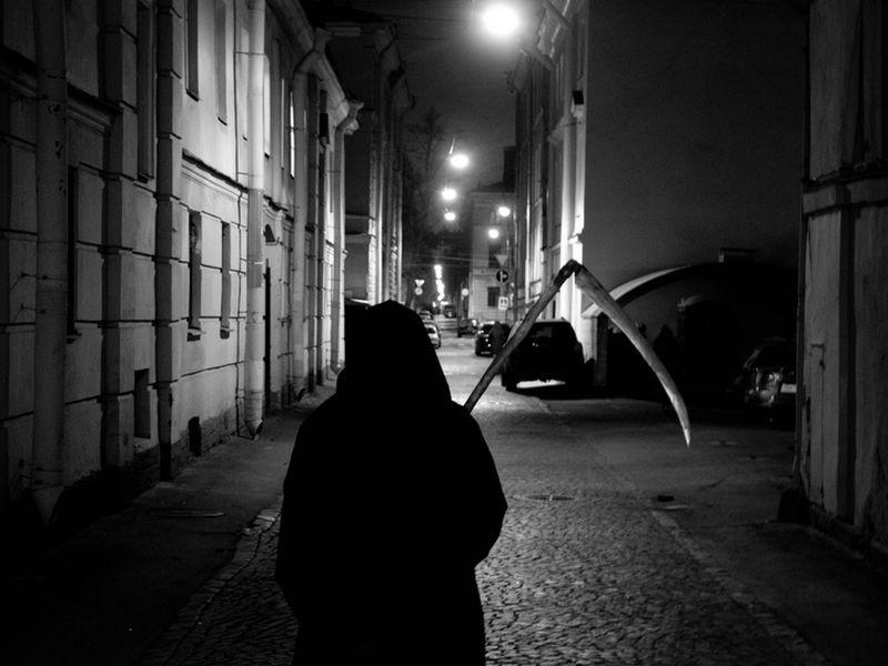 Экскурсия Иммерсивная прогулка со Смертью по центру Петербурга