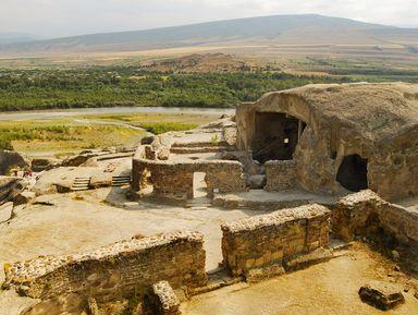 Вехи грузинской истории. Уплисцихе, Гори и Мцхета