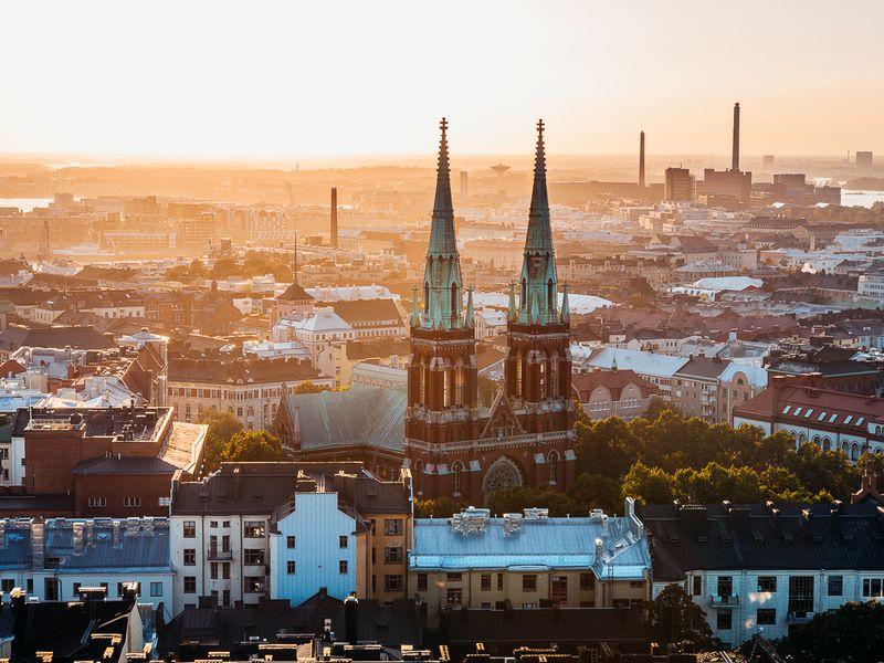 Экскурсия Обзорная прогулка по Хельсинки из аэропорта Вантаа