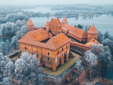Вильнюс и Тракай — современная и древняя столицы Литвы