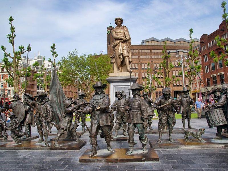 Фото Амстердам времен Рембрандта, Халса и «малых голландцев»