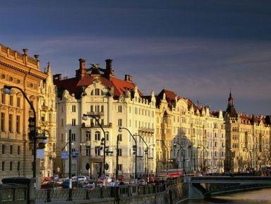 Трансфер + экскурсия по главным местам чешской столицы