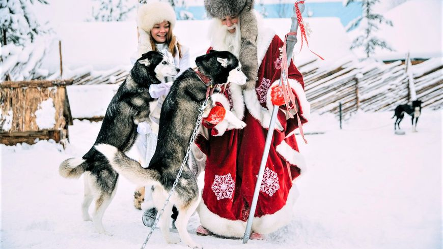 В гости к карельскому Деду Морозу!