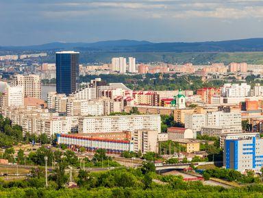 Здравствуй, Красноярск!