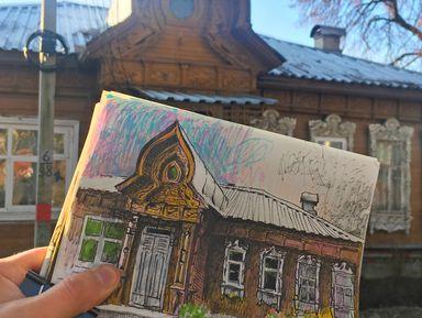 Сергиев Посад: парадные, художники, мастерские и коврижки
