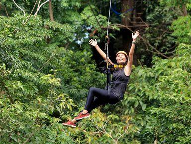 Полет над джунглями в Као Лаке