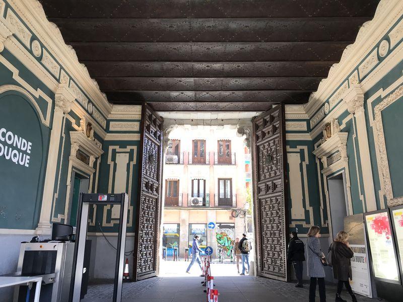 Фото Непопсовый Мадрид, или вдоль стены Филиппа IV