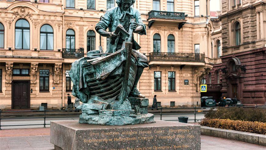 Царь-плотник: морская история Петербурга