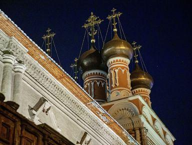 Ночная экскурсия поВысоко-Петровскому монастырю