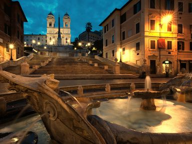 Вечерний Рим на автомобиле с панорамной крышей