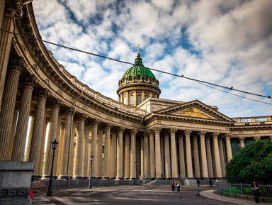 Казанский собор снаружи и внутри
