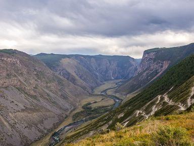 Путешествие на Кату-Ярык и треккинг к водопаду Куркуре