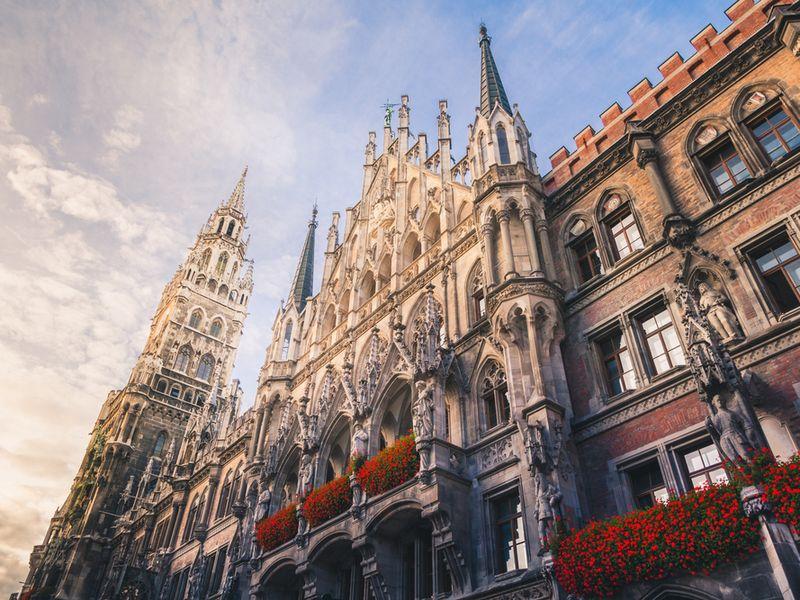 Экскурсия Путешествие во времени — авто-пешеходная экскурсия по Мюнхену
