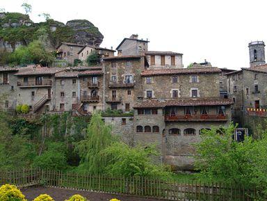 Каталонские крепости: Бесалу, Рупит и Кастельфольит-де-ла-Рока