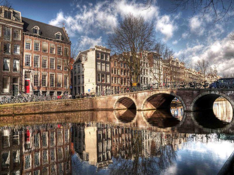 Фото Путешествие по каналам Амстердама