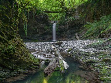 Ореховский водопад и экопоселение Ажек